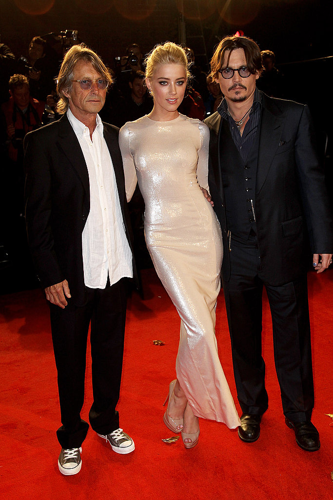 Johnny Depp and Amber Heard had their director by their side.