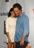 Matthew McConaughey and Camila Alves shared secrets at the LA launch of her handbag collection in August 2008.