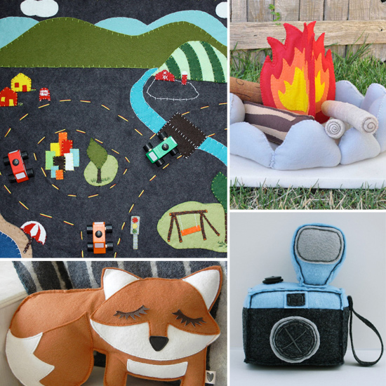 Let's Play Pretend: 10 Felt Toy Finds For Tots