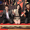 Twilight Handprint Ceremony Pictures