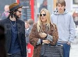 Sienna Miller made a funny face for Tom Sturridge.