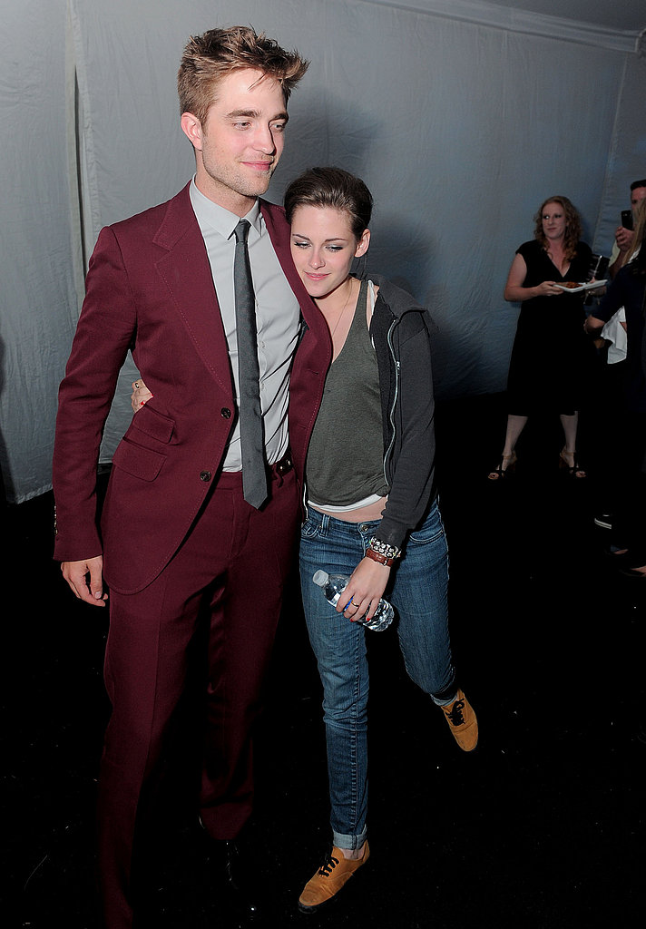 Robert Pattinson and Kristen Stewart held on to each other at the LA after party for Eclipse in 2010.