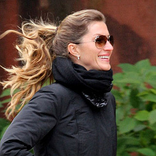 Gisele Bundchen at Tai Chi Class Pictures in Boston