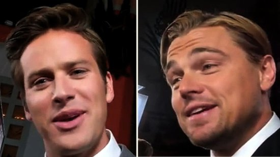 Video: Leonardo DiCaprio Dishes on His Latest Onscreen Kiss