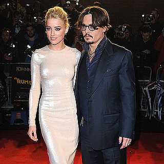 Johnny Depp and Amber Heard in London The Rum Dairy Pictures