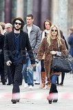 Sienna Miller and Tom Sturridge on a trip around Venice.
