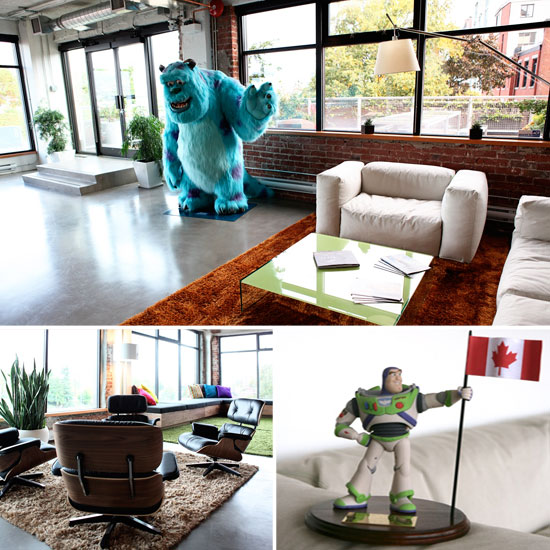 Take a Tour Through Pixar Canada