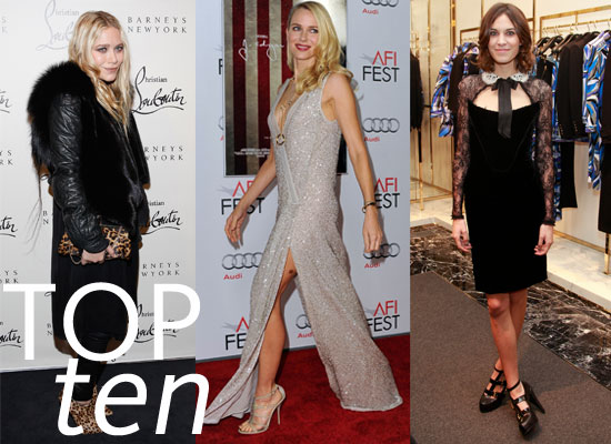 Our Best Dressed List: Top Ten of the Week!