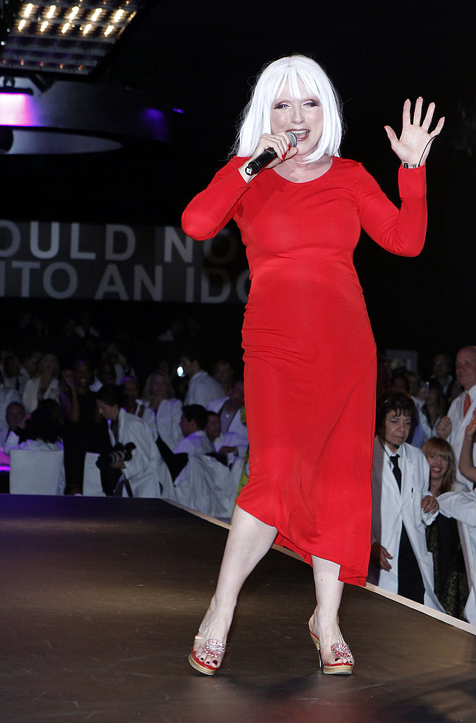Debbie Harry performed at the 2011 MOCA Gala.