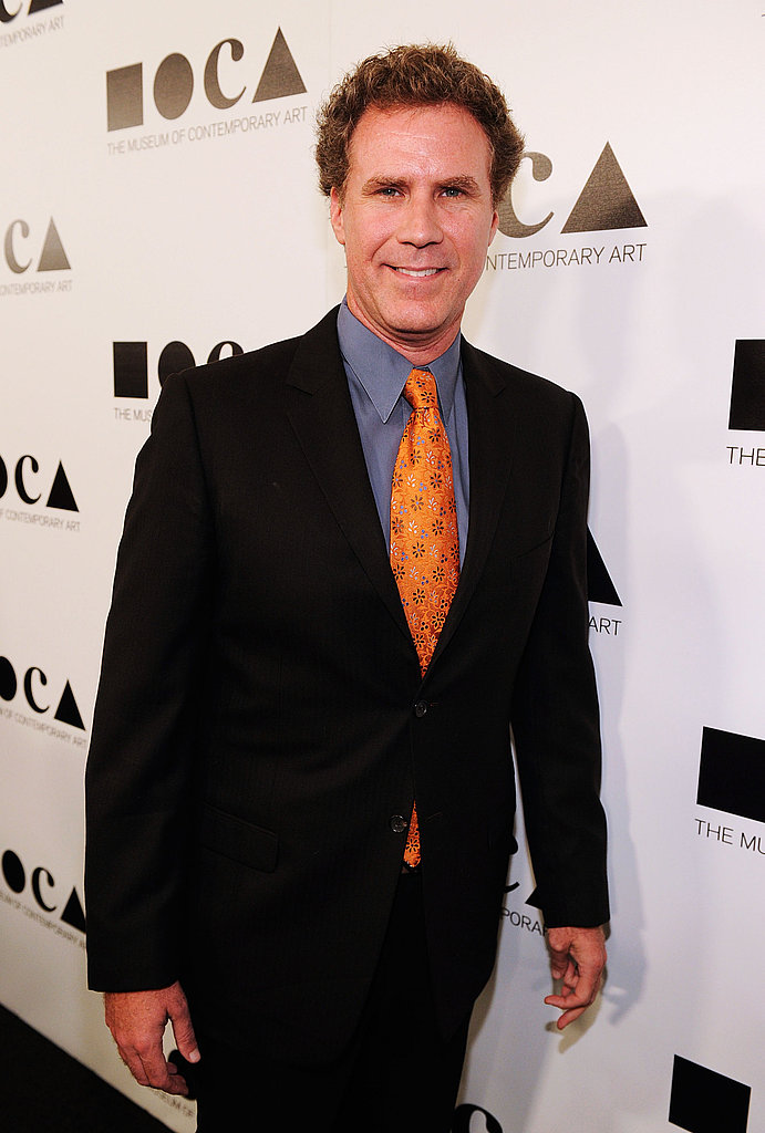 Will Farrell stepped out at the  2011 MOCA Gala.