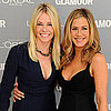Jennifer Aniston &amp; Chelsea Handler Pictures at Glamour Award