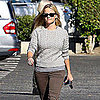Reese Witherspoon Wears Cableknit Sweater Pictures