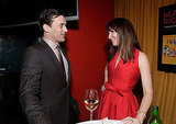 Jon Hamm chatted up Janie Bryant at the Conga Room in LA.