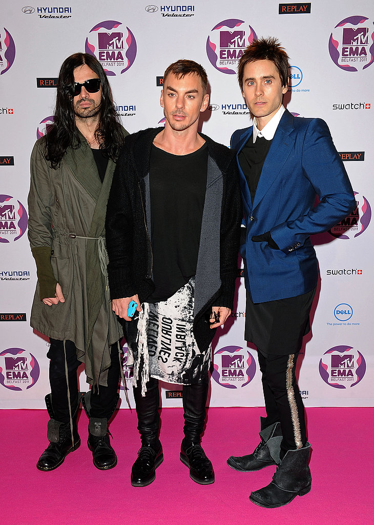 Jared Leto and 30 Seconds to Mars looked the part of rock stars.