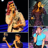 Selena Gomez Sparkles at the MTV EMAs With Justin, Coldplay, and More!