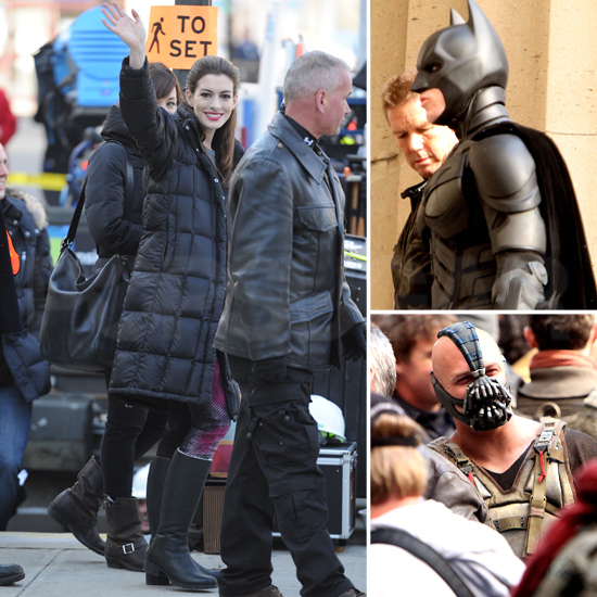 Anne, Christian, and Tom Spend Their Days on The Dark Knight Rises
