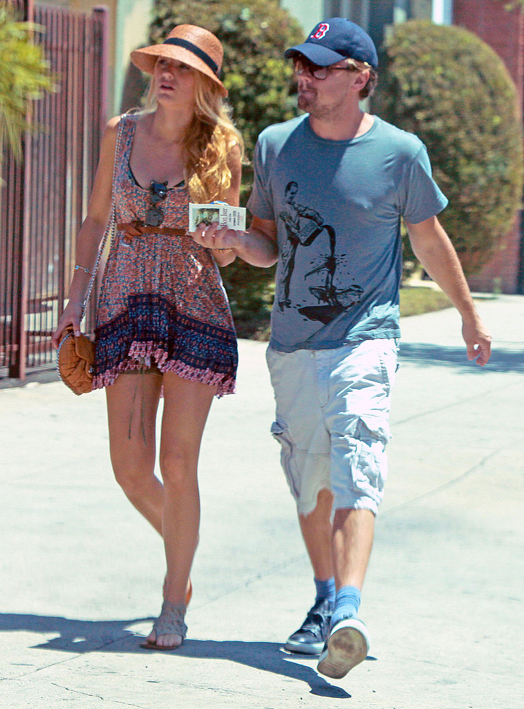 In 2011, Leonardo DiCaprio took a sunny-day stroll with then-flame Blake Lively.