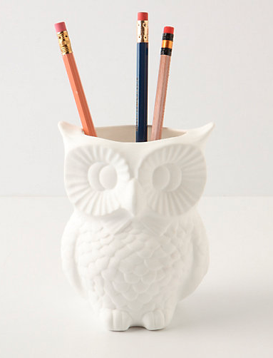 Owl Pen Holder