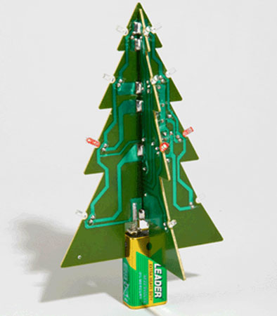 Motherboard Christmas Tree ($20)
