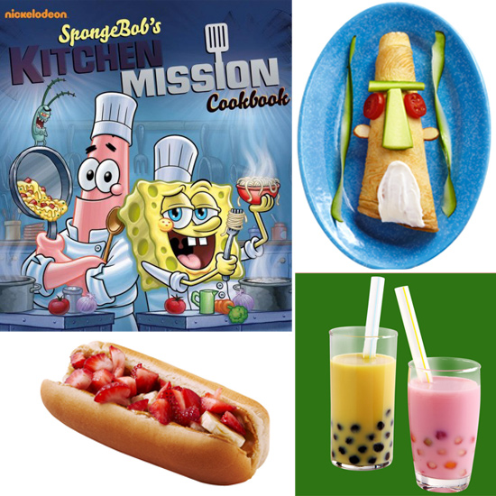 SpongeBob Takes His Undersea Adventure Into the Kitchen