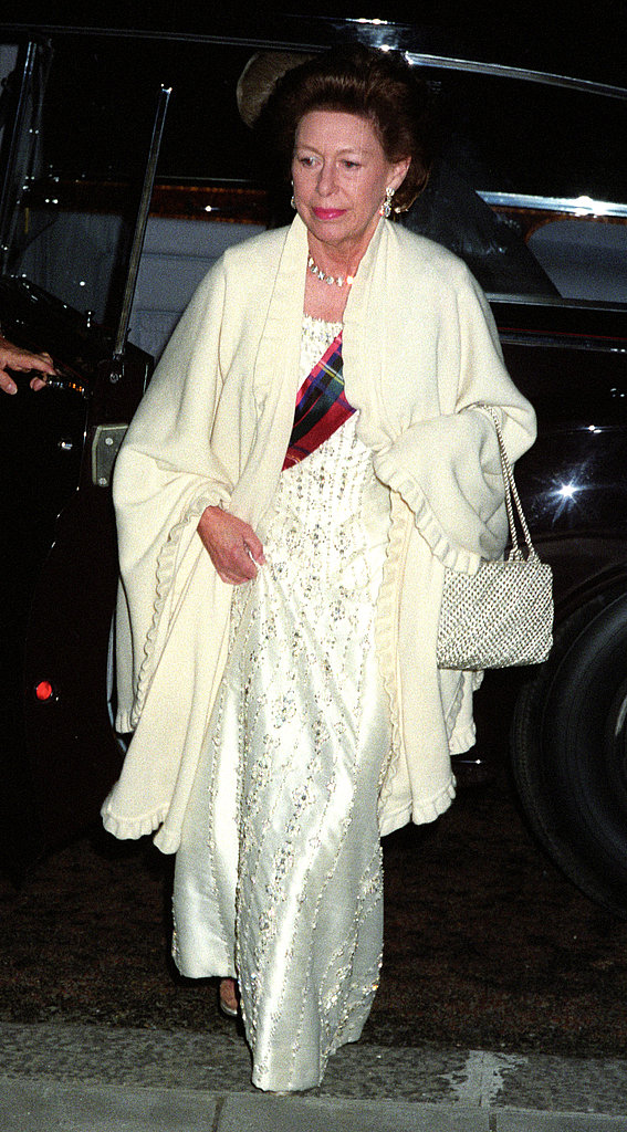 Princess Margaret attended the Caledonian Ball on May 6, 1993.