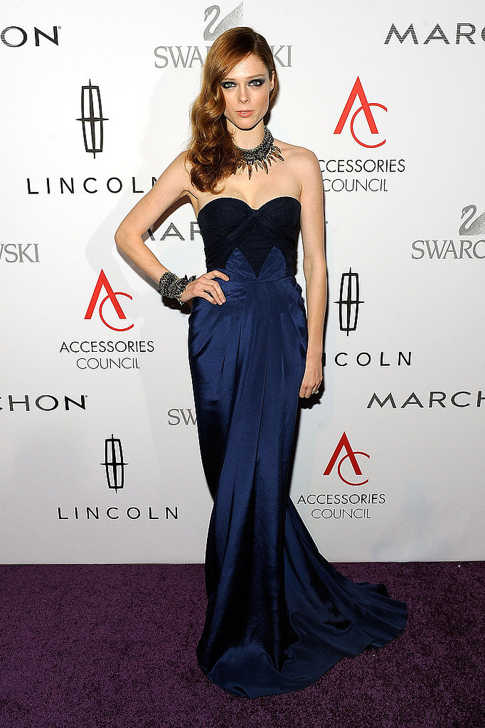 Coco Rocha wore a jaw-dropping necklace and floor-length gown to the 15th annual ACE Awards.