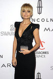 Nicole Richie held onto a small clutch at the 2011 ACE Awards.