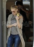 Kate Hudson shopped with fiancé Matt Bellamy.