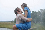 A heavily bearded Ryan and The Notebook costar Rachel McAdams shared a hot and heavy scene in the 2004 film.
