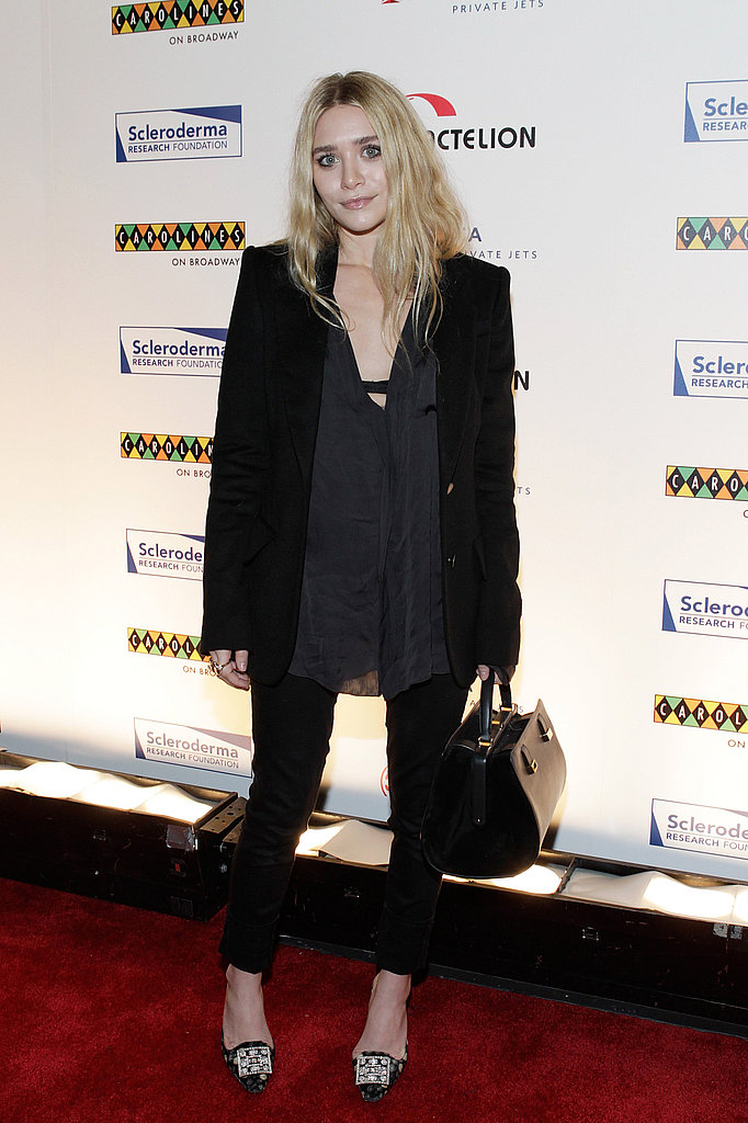 Ashley Olsen attends the Cool Comedy - Hot Cuisine for Scleroderma Research Foundation event in NYC.