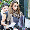Jessica Alba With Haven in NYC Pictures