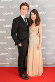 Jonathan Groff and Lea Michele attended the Glamour Women of the Year Awards.