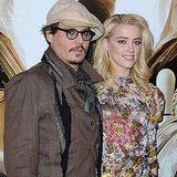 Johnny Depp Rum Express Photocall in Paris