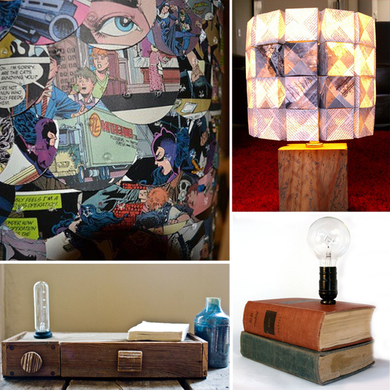 Geeky Lamps From Etsy