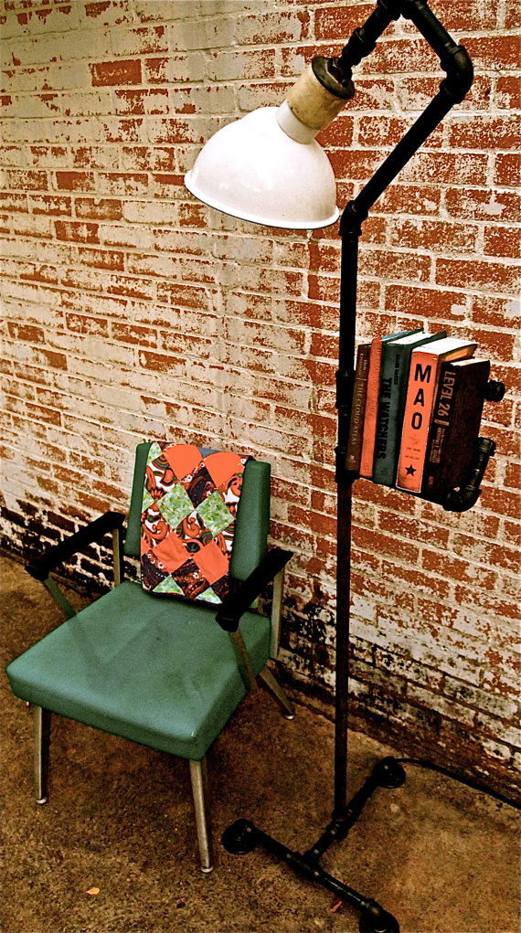 Floor Lamp Bookshelf ($195)