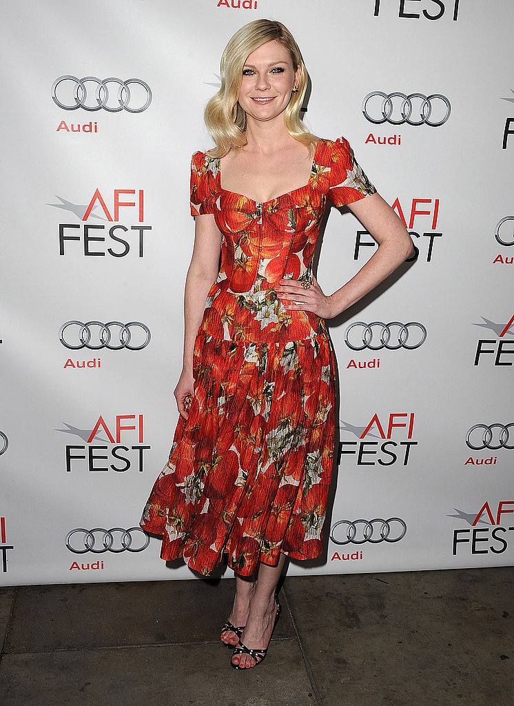 Celebrity Lookbook: Gorgeous Floral Frocks