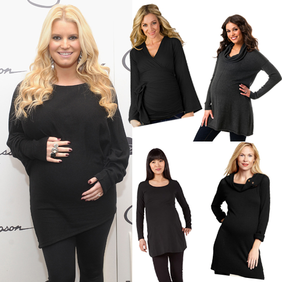 Jessica Simpson's Head-to-Toe Black