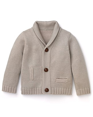 Infant Boys' Shawl Cardigan Sweater ($45)