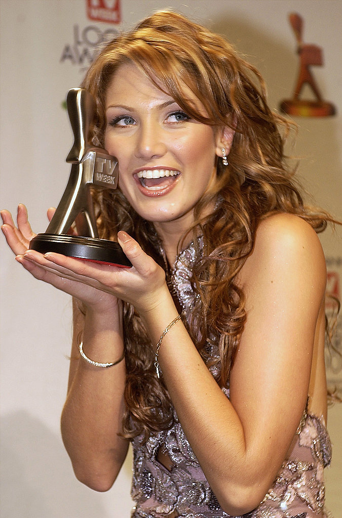 Delta scored the Logie for Most Popular New Female Talent in 2003.
