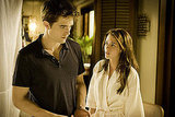 Robert Pattinson and Kristen Stewart in Breaking Dawn.