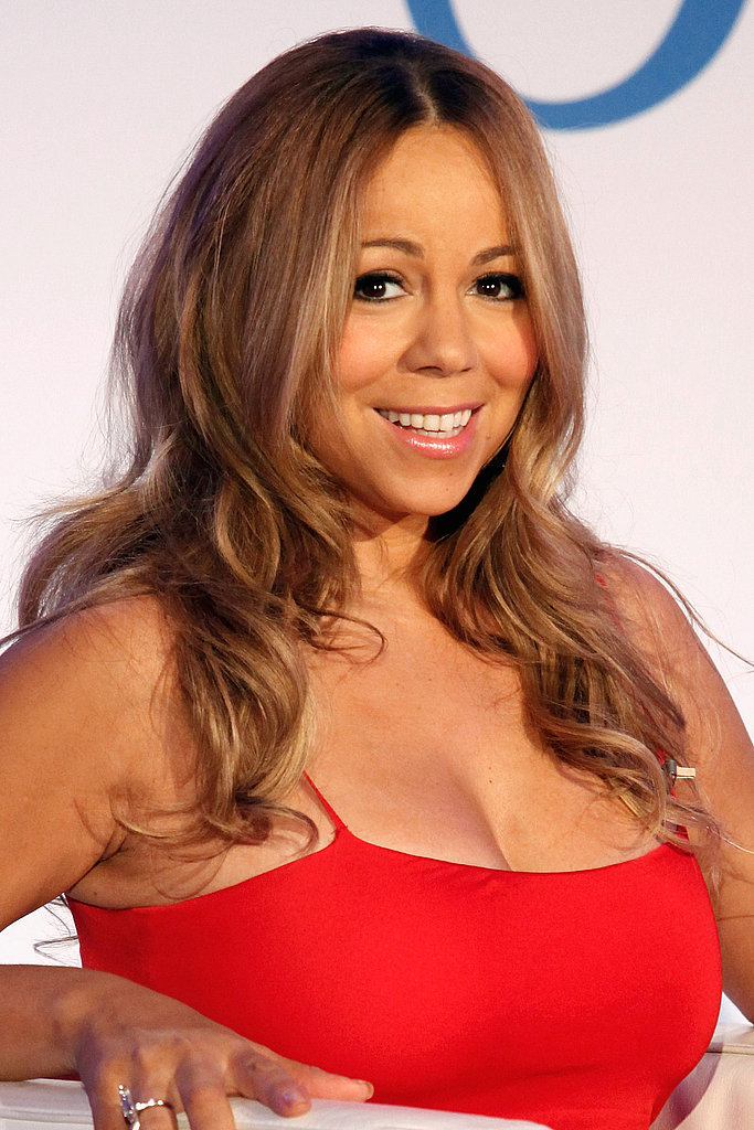 Mariah Carey talking about Jenny Craig.