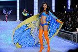 Adriana Lima turned her cape at the 2011 Victoria's Secret Fashion Show.