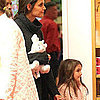 Katie Holmes and Suri Cruise Pictures at American Girl Place