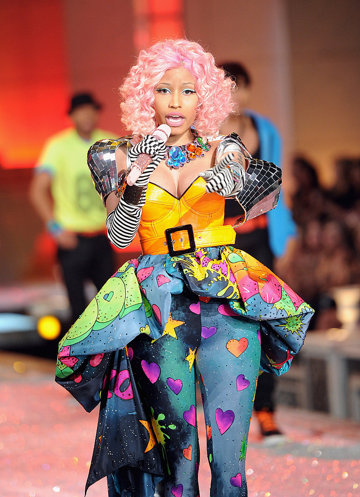 Nicki Minaj gave a thrilling performance at the 2011 Victoria's Secret Fashion Show.