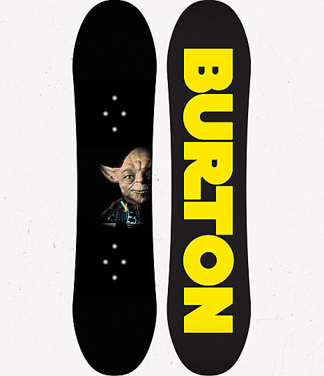 Get Closer to a Hoth Getaway on Star Wars Snowboards