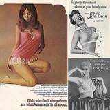 Sexy Vintage Lingerie Ads