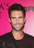 Adam Levine was in high spirits following his surprise duet with Jay-Z at the Victoria's Secret Fashion Show.
