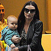 Miranda Kerr and Flynn in NYC Pictures After VS Show