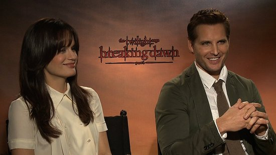 "Peter Facinelli and Elizabeth Reaser on Twilight Fan Tributes and ""Tasteful"" Breaking Dawn Sex Scenes"