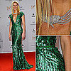 Gwyneth Paltrow Wearing Elie Saab Green Dress at Bambi Awards 2011